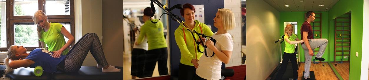 Fysiotraining slider-kuva